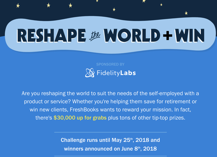 If your product or service is designed to benefit freelancers and entrepreeurs FreshBooks wants you to be rewarded!