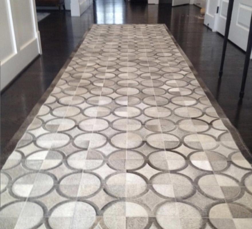 Custom Center Rug for Open Area by Farsh Carpet