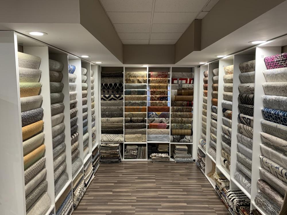Farsh Carpets & Rugs Show room of Rugs in Alexandria Virginia