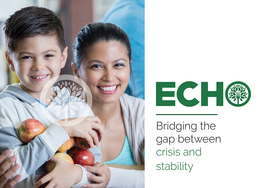Cover of 2018-2019 ECHO Annual Report