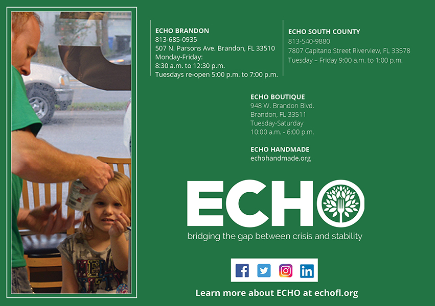 ECHO Annual Report Back Cover
