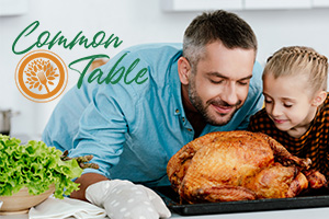 Common Table Thanksgiving Outreach Event