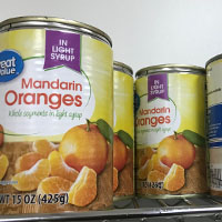 Food Pantry- Most needed item - canned fruits