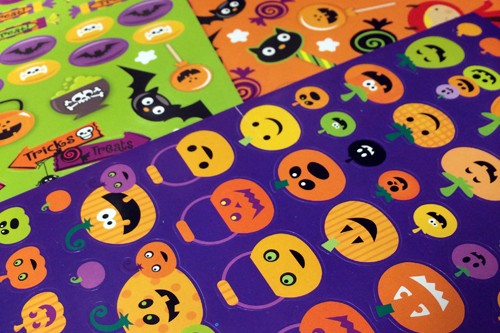 halloween stickers 2