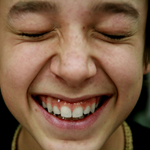 close up of laughing kid 2