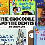 assortment of childrens dental books 4