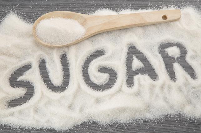 sugar spelled out in sugar 2