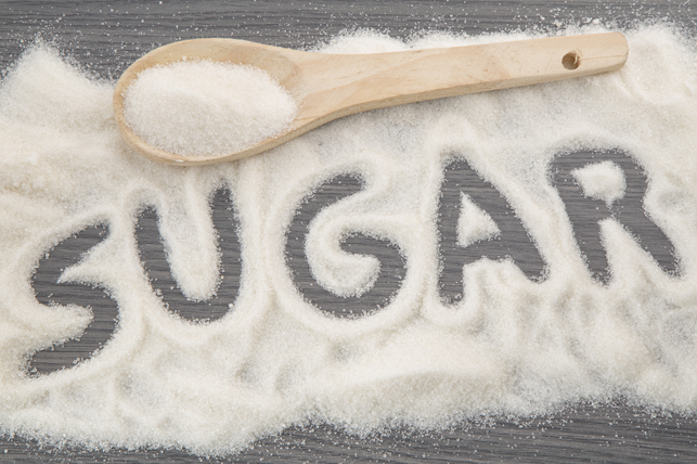 sugar spelled out in sugar 2