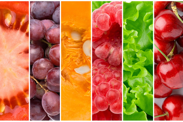 close ups of fruits and vegetables 2
