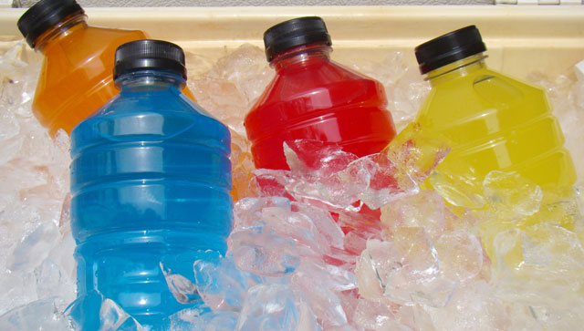 sports drinks on ice 2