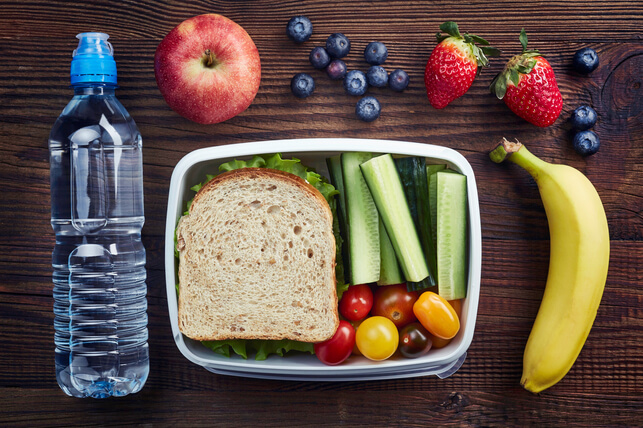 Healthy packed lunch 2