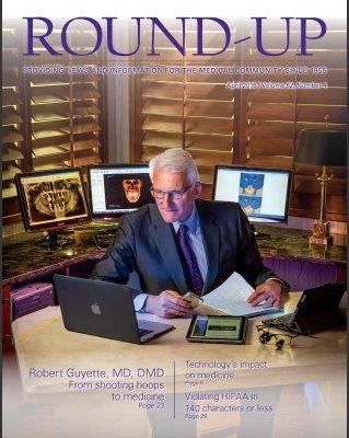 cover of roundup magazine