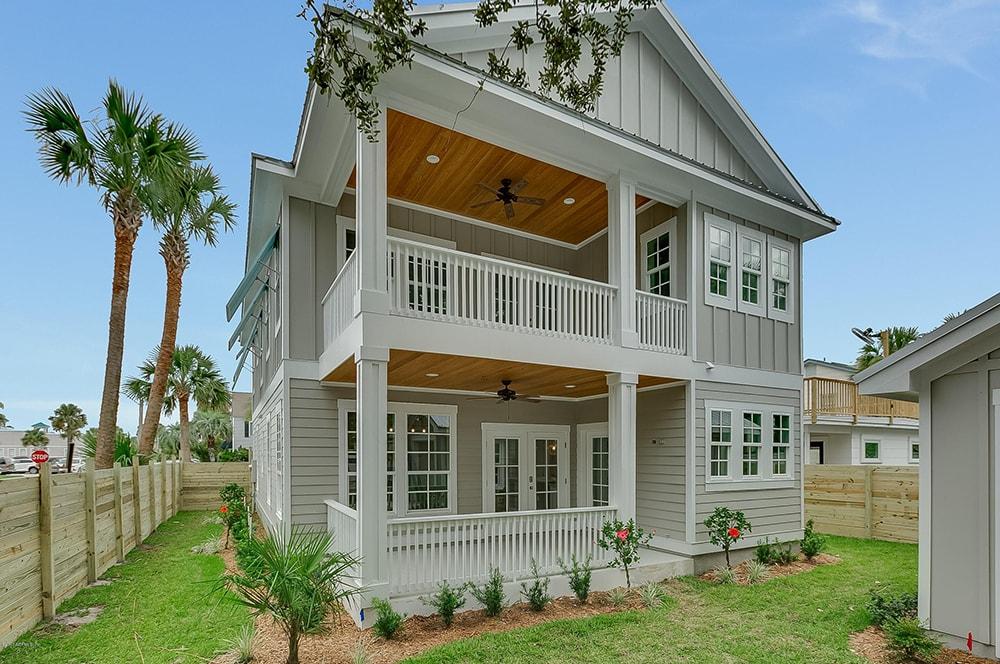 coastal style custom home