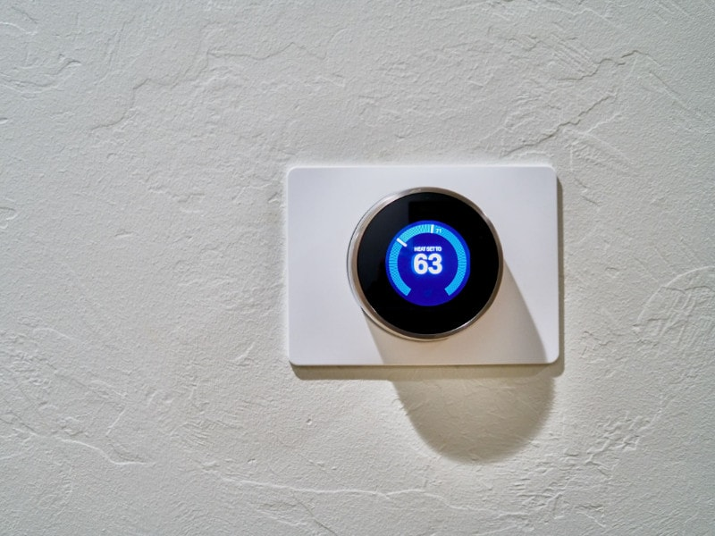 Smart Homes Built Using a Smart Thermostat