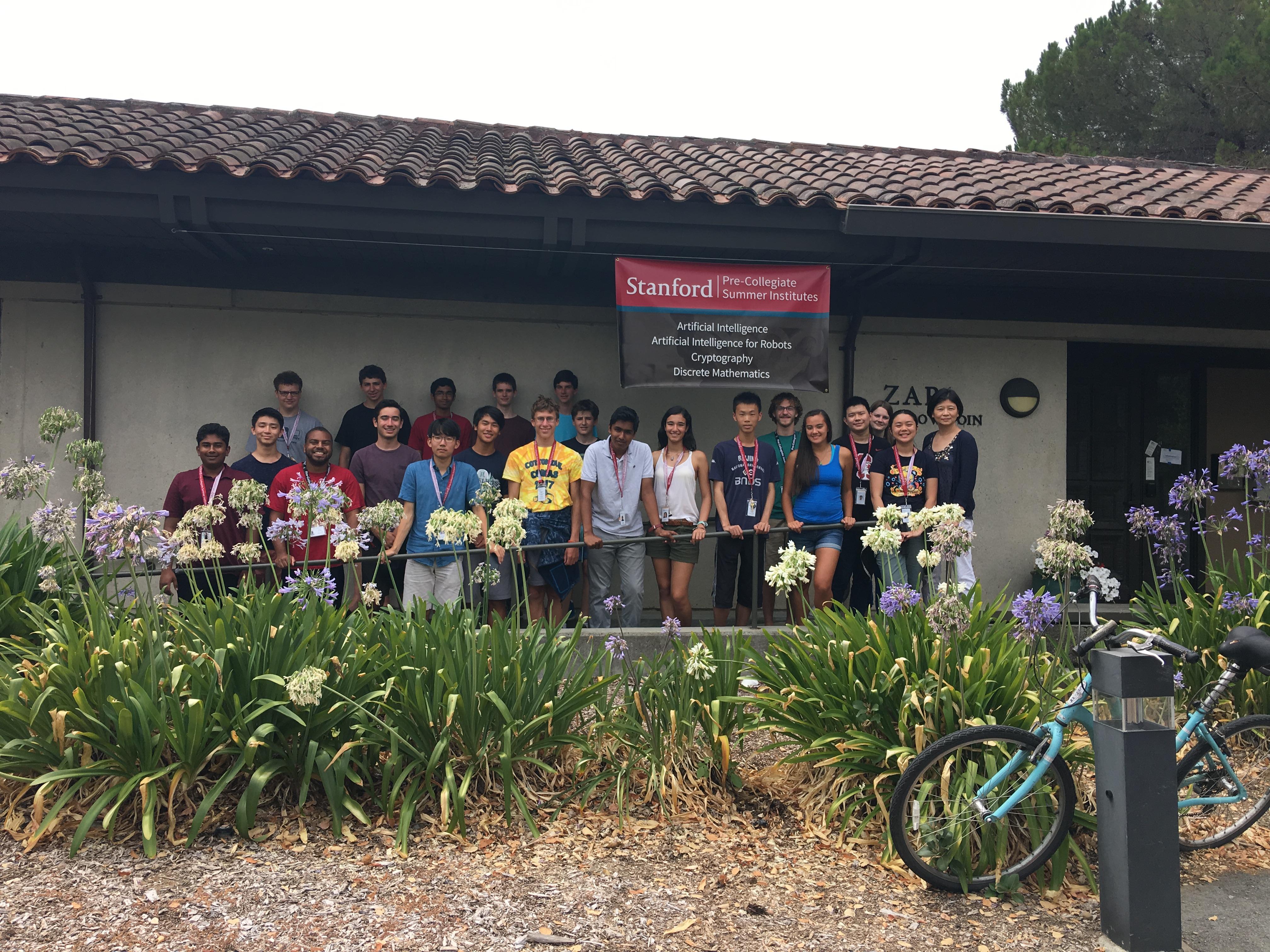 Stanford Pre-Collegiate Studies, Summer Institutes 2017