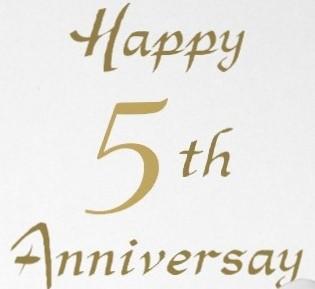 5th Year Anniversary