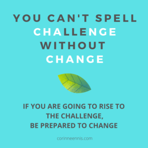 Today's Gold Nugget: CHALLENGE