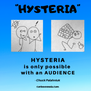 Today's Gold Nugget: HYSTERIA