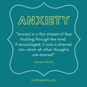 Today's Gold Nugget: ANXIETY