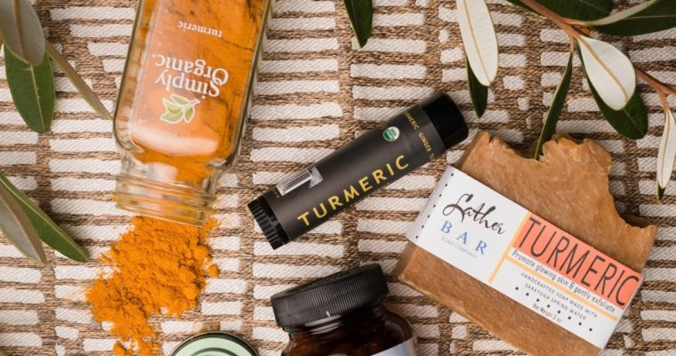 The benefits of turmeric…inside and out.