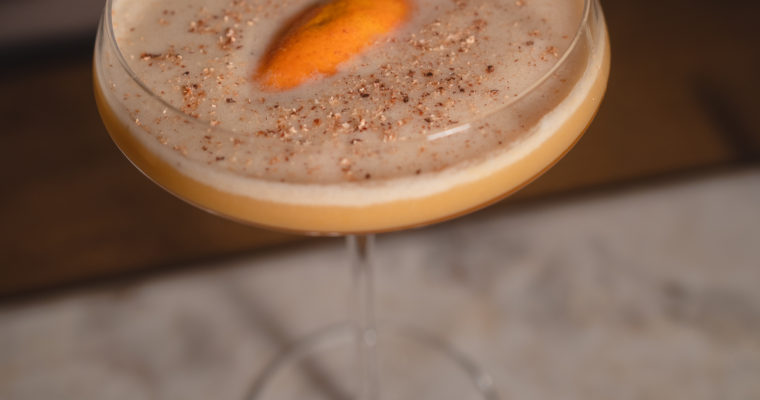 The Pumpkin Flip-Holiday Cocktail
