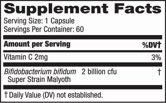 bifidonate capsule label