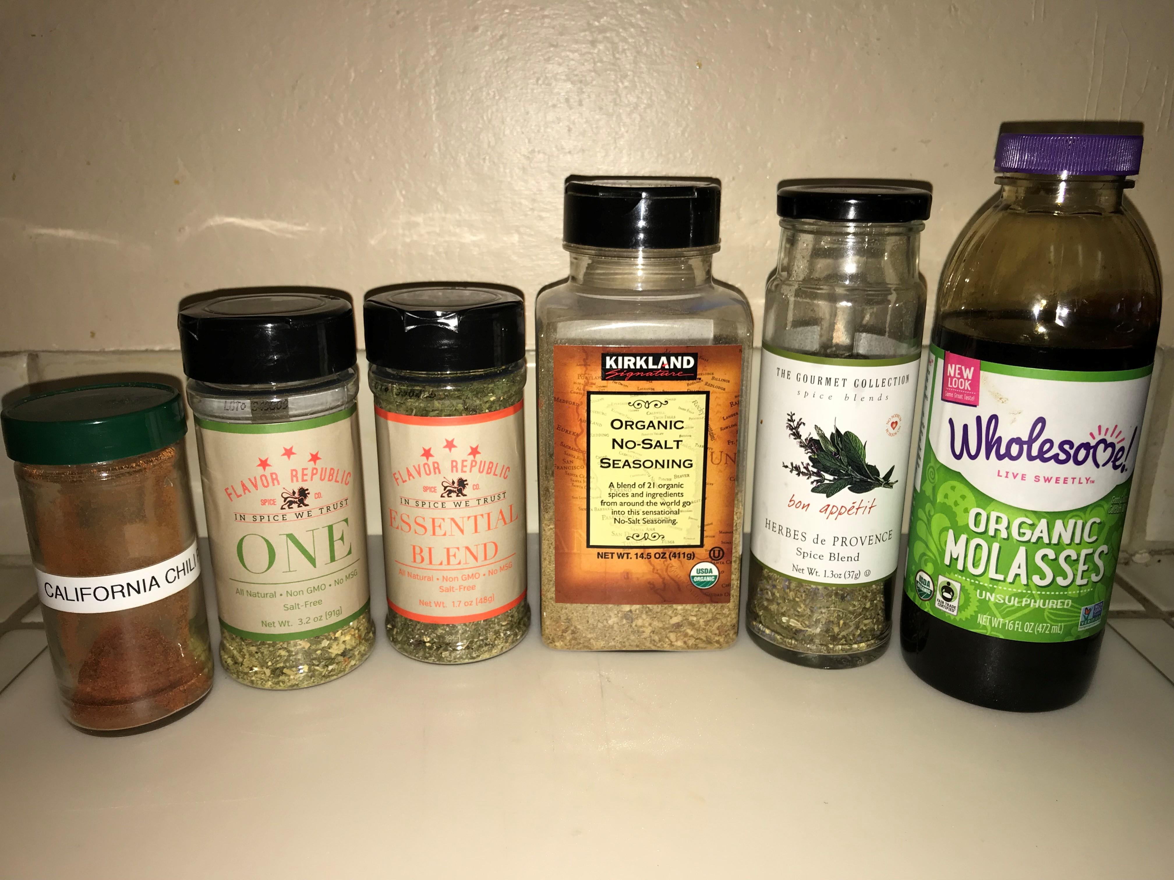 Oatmeal seasonings