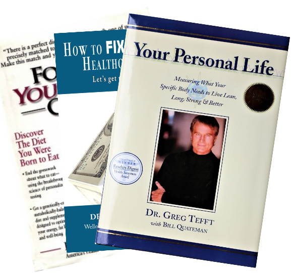 Dr. Tefft Books