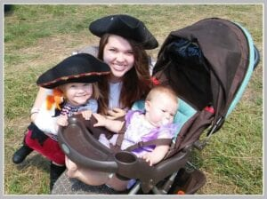 Festivals are great outings for families with kids!