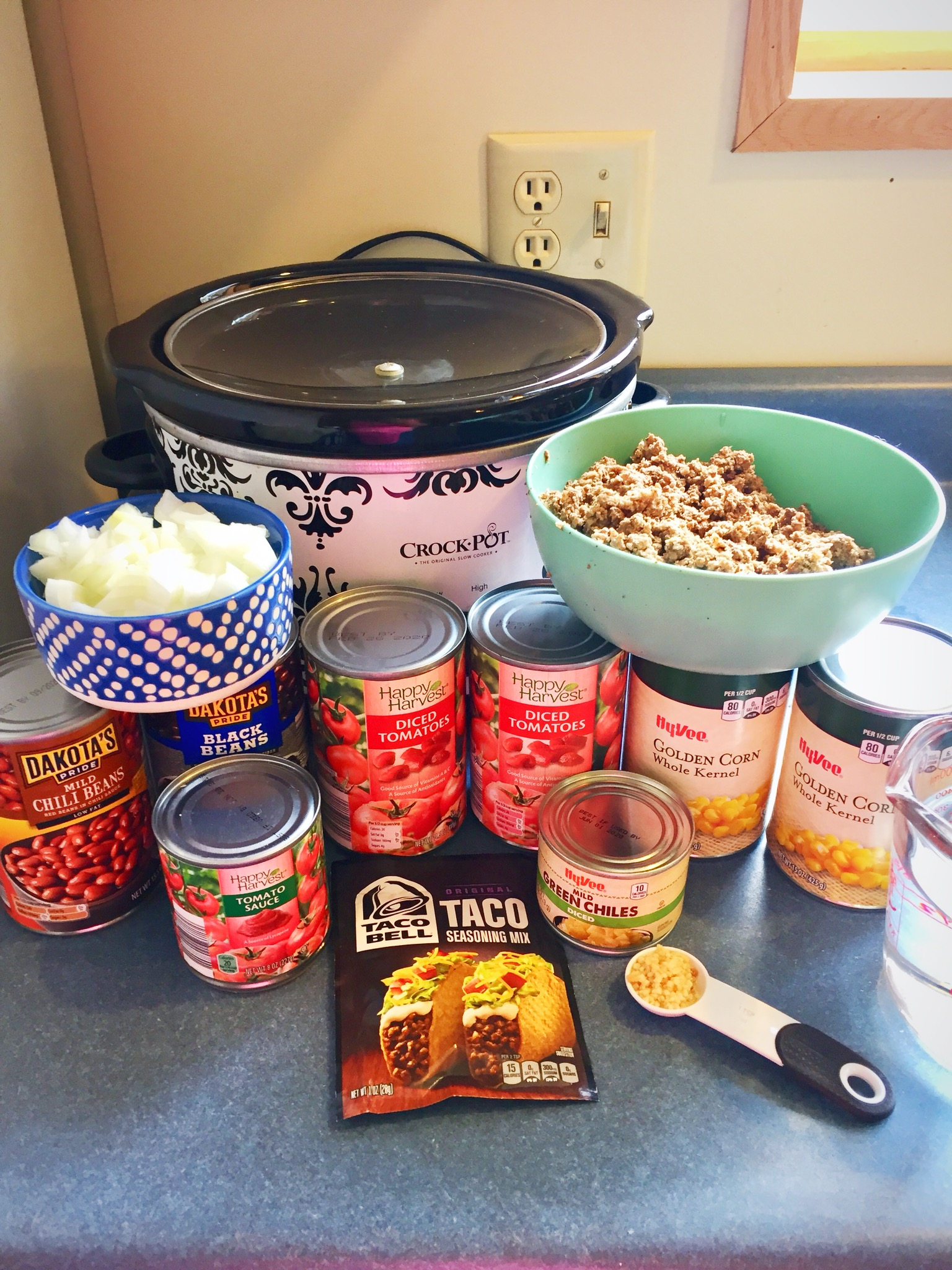 Slow Cooker Taco Soup Ingredients