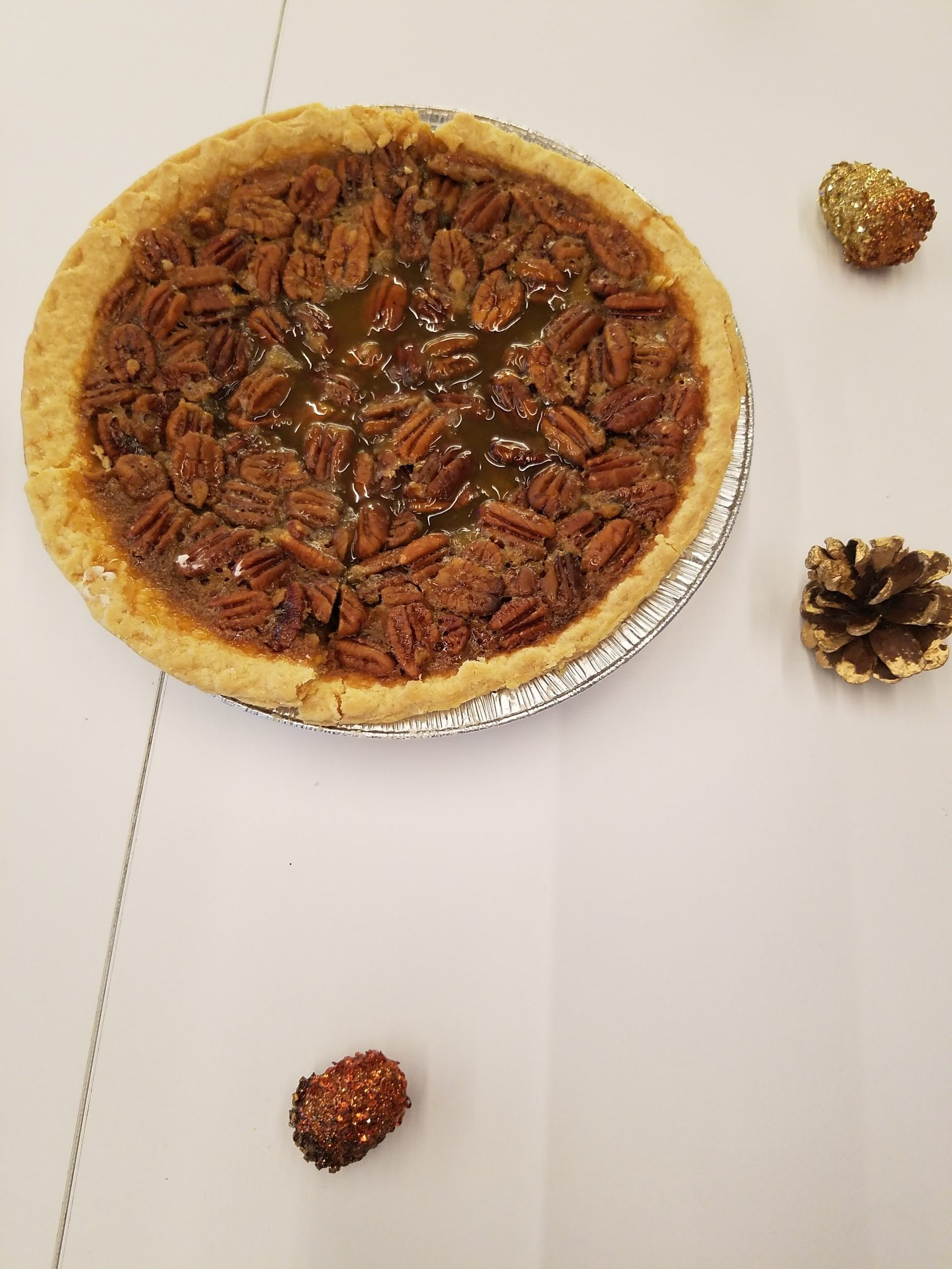 Allreciped Pecan Pie