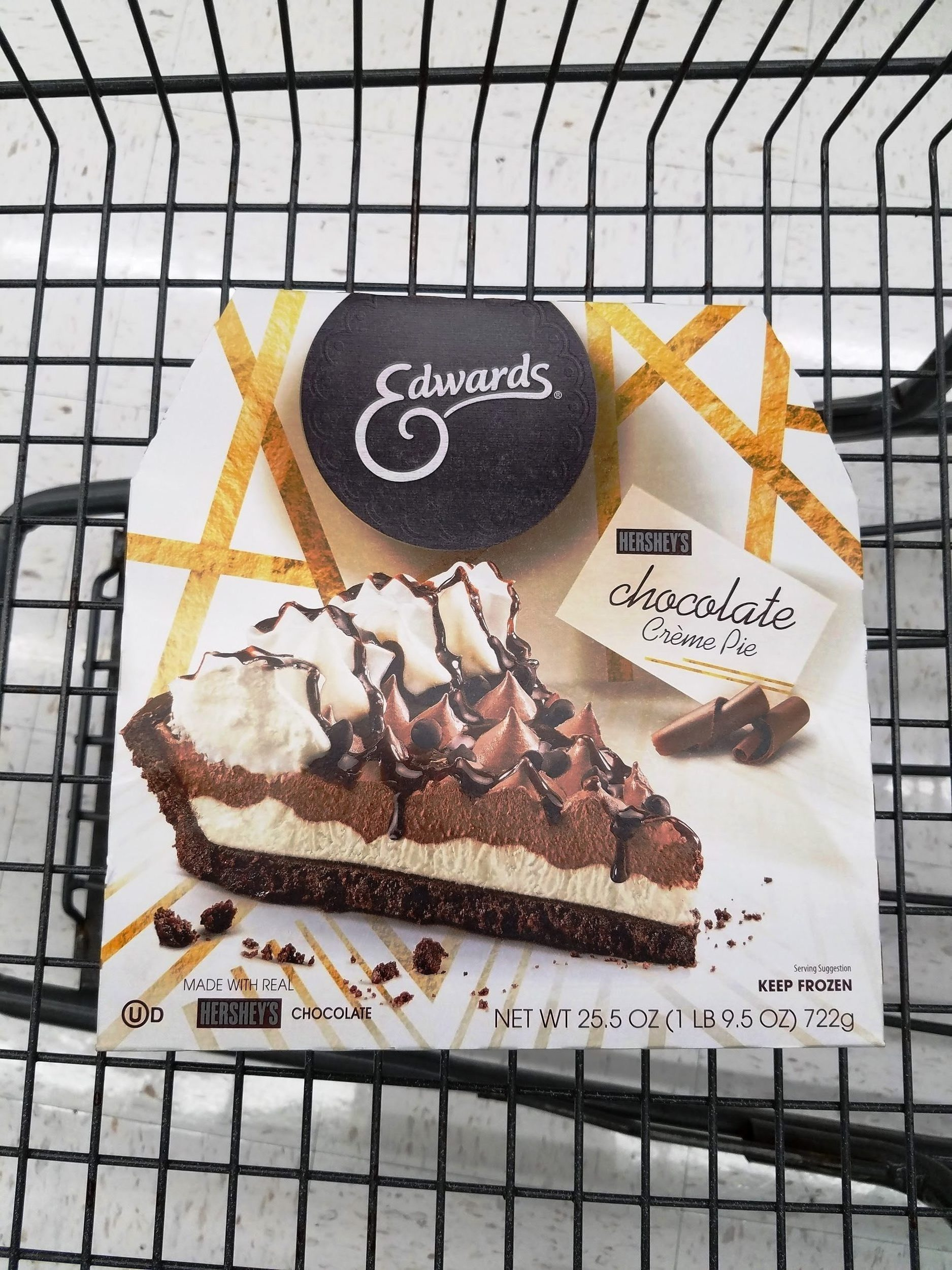 Edwards Hershey Chocolate Creme Pie