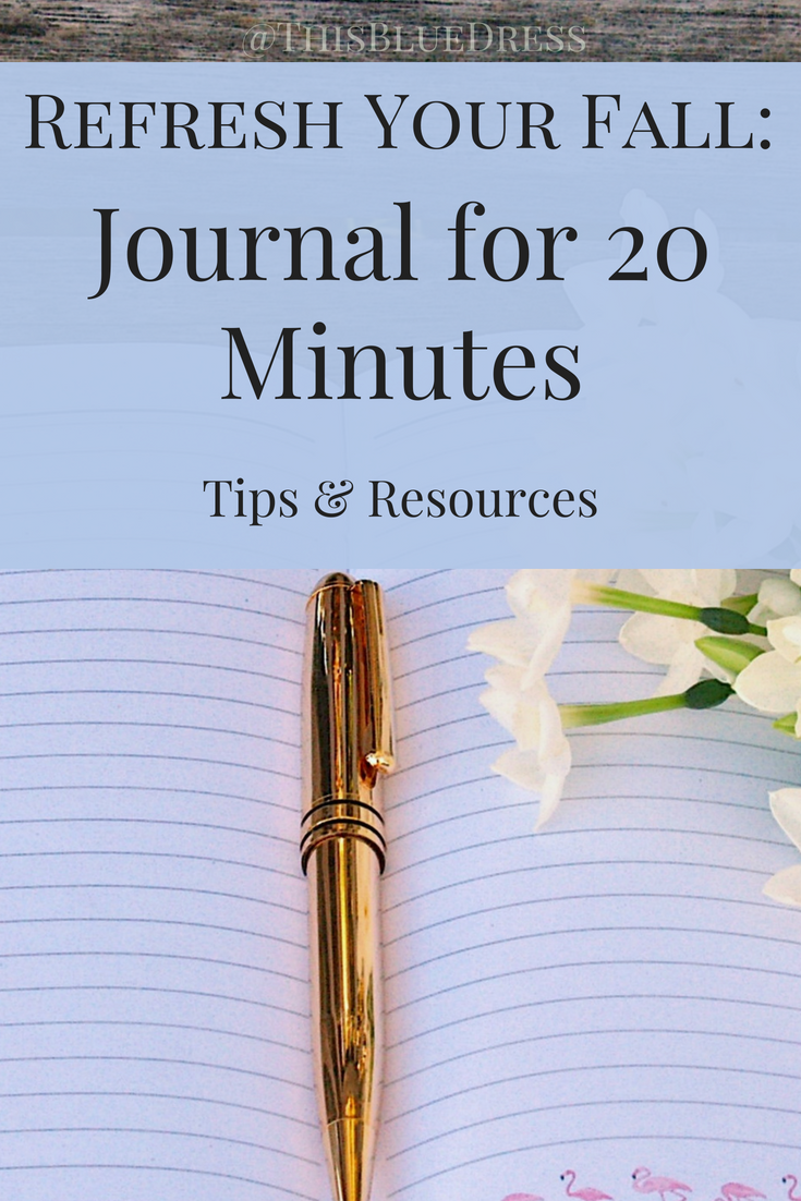Refresh Your Fall_ Journal for 20 Minutes #journaling #journaltips #recordkeeping #memorykeeping