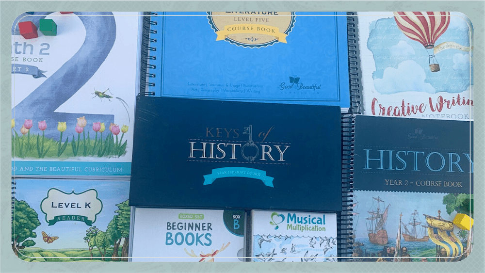 The Good and The Beautiful Homeschool Curriculum: Individual Subjects Review