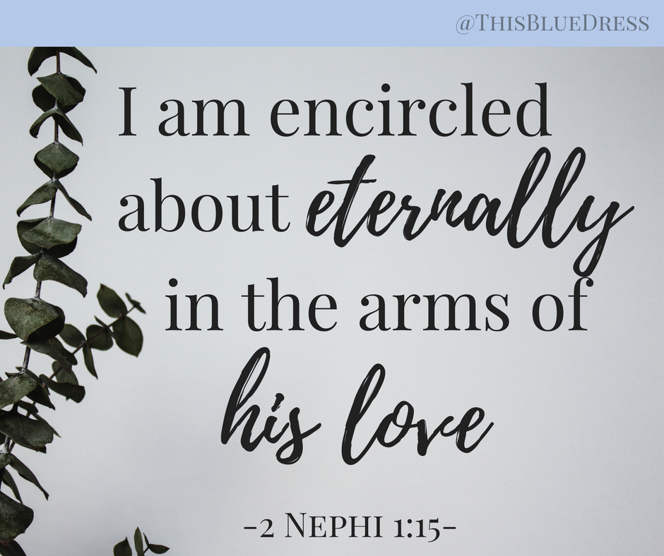 In the arms of his love