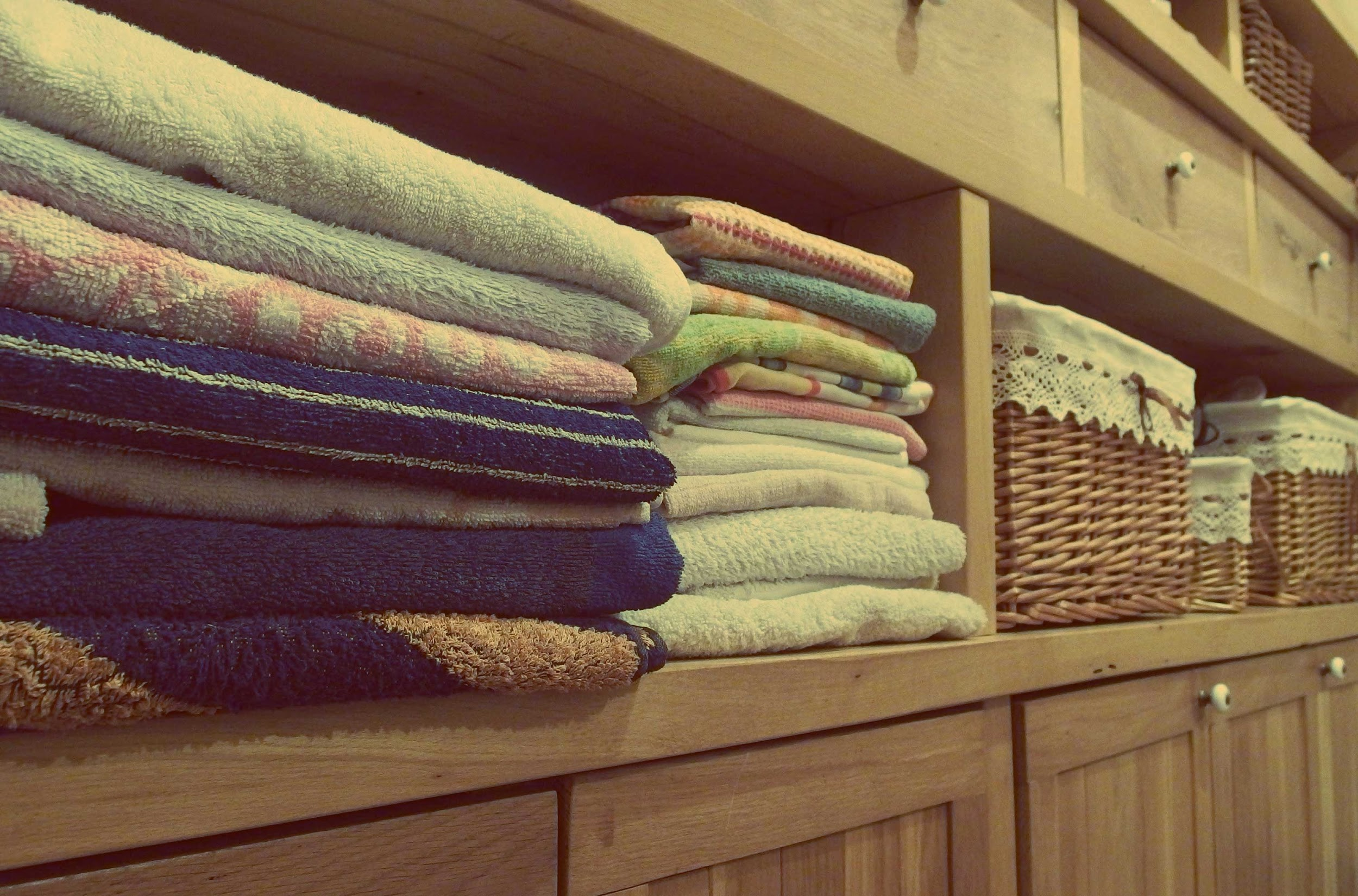 Self Love Folding Laundry