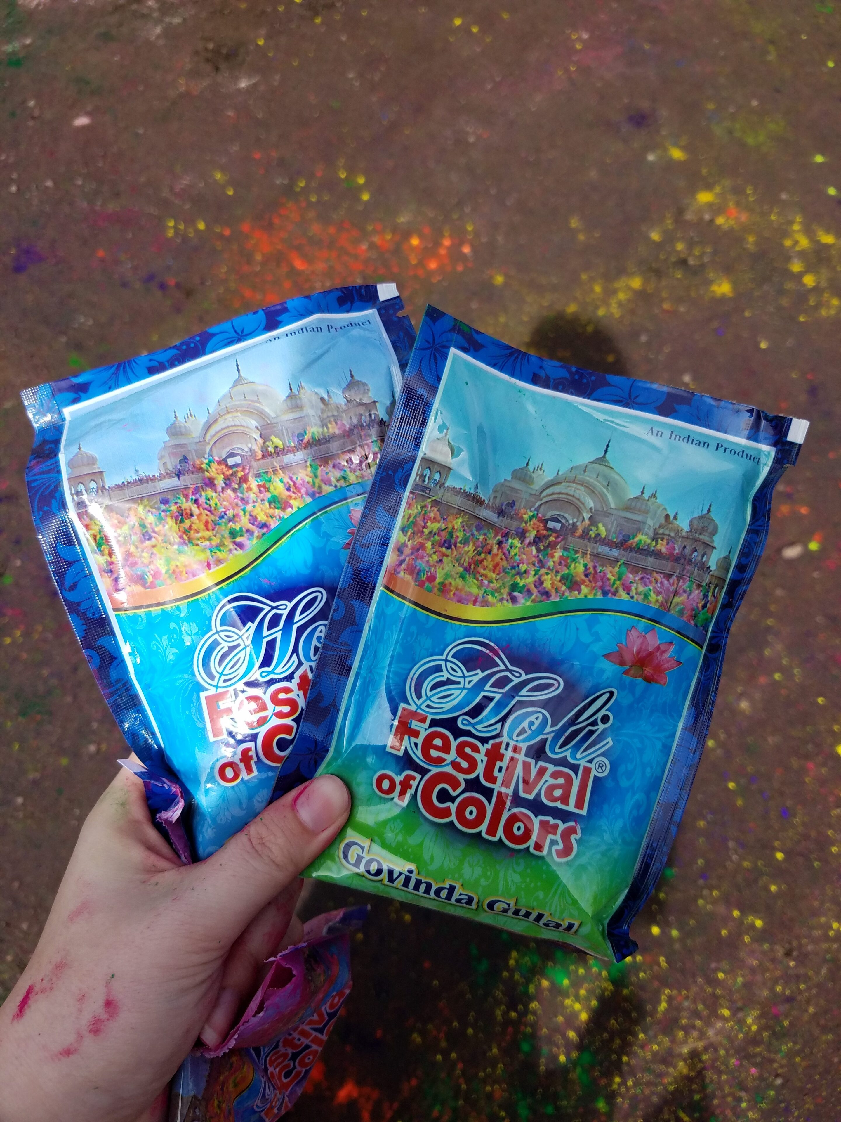 Festival of Colors color packets
