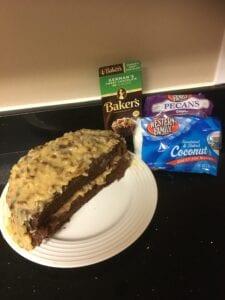 Make half a cake for a half-birthday celebration!