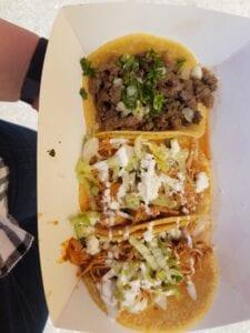 trio of tacos