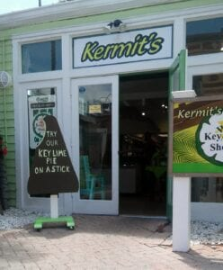 Kermit's storefront