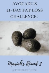 fat loss challenge Pinterest pin