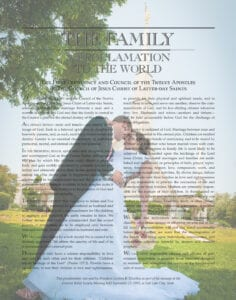 Tara's beautiful personalized The Family: A Proclamation to the World from Custom Family Proclamations #familyproclamation #lds #customfamilyproclamations