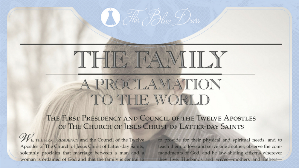 Custom Family Proclamations: A Review