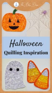 The cutest Halloween quilling project