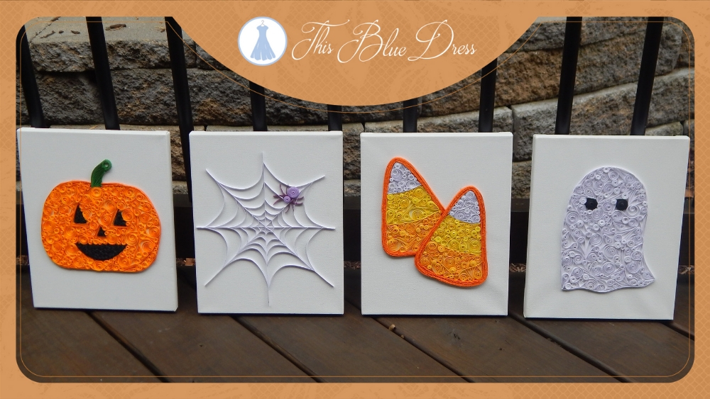Halloween Quilling Inspiration
