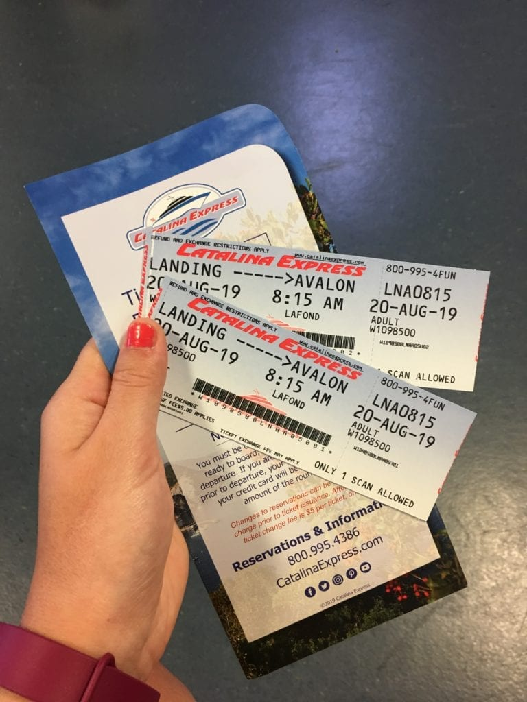 Catalina Island tickets