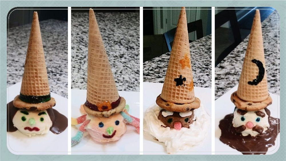 Ice Cream Witches and Wizards Tutorial