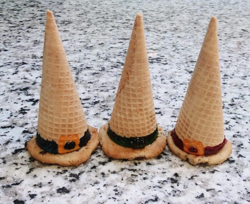 ice cream witch hats