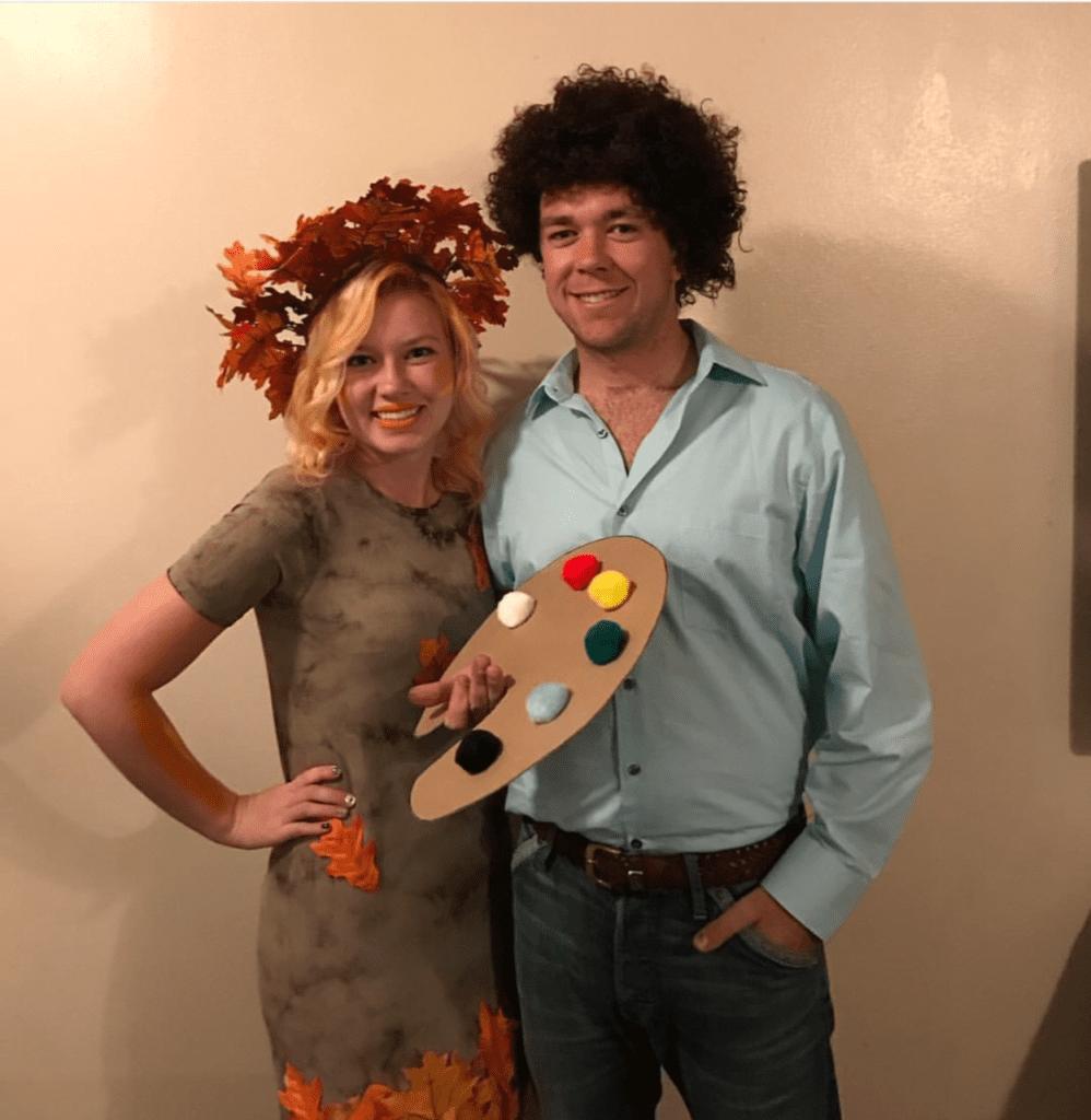 Last-Minute Halloween Costume Ideas. Bob Ross.