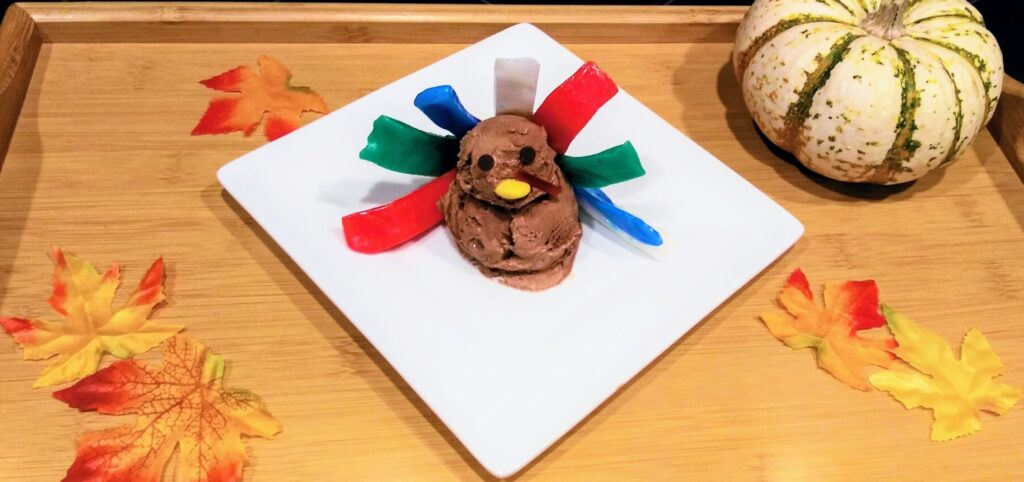 ice cream turkey final product